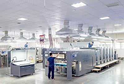 三菱印刷机群