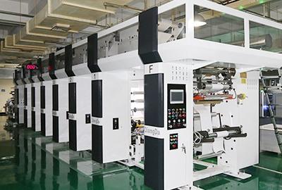 凹印机机群